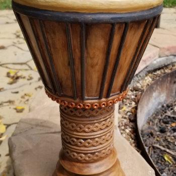 African Drum - Standing