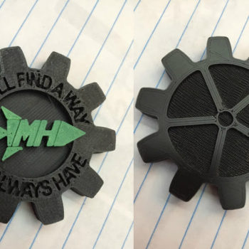 Maker Coin (front and back)