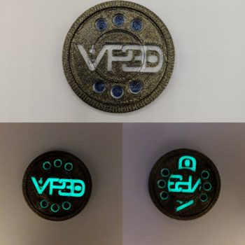 VP3D Maker Fidget Coin